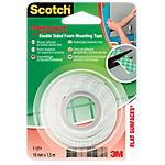 Cinta adhesiva de doble cara Scotch Doble cara verde 19 mm x 1,5 m