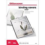 Tapa de encuadernación Office Depot A4 pvc 200 µm transparente 100 unidades