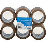 Cinta de embalaje Niceday Economy 48 mm x 66 m marrón 6 rollos
