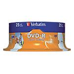 DVD R Verbatim 4.7 gb 25 unidades