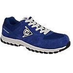 Zapatos Dunlop piel, malla talla 44 s3 azul