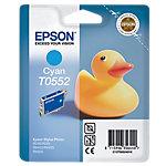 Cartucho de tinta Epson original t0552 cian c13t05524010