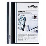 Dossier con fastener DURABLE A4 negro plástico