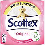Papel higiénico Scottex Original 2 capas 96 rollos de 155 hojas