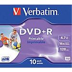 DVD+R grabable Verbatim 43508 surtido 10 unidades
