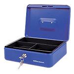 Caja de caudales Office Depot 3 azul 260 x 185 x 81 mm
