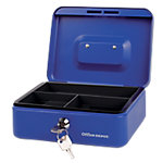 Caja de caudales Office Depot 8 azul 204 x 150 x 74 mm