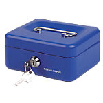 Caja de caudales Office Depot 5 azul 153 x 120 x 70 mm