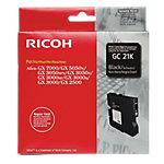 Cartucho de tinta Ricoh original gc21k negro 405532