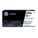 Tóner HP 655A, 10500 páginas, Cian, 1 pieza(s) CF451A
