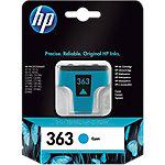 Cartucho de tinta HP original 363 cian c8771ee