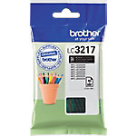 Cartucho de tinta Brother original lc3217bk negro