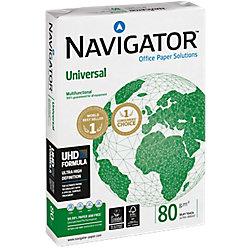 Papel Navigator Universal A3 80 g/m² blanco 500 hojas