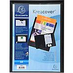 Dossier de presentación Exacompta Krea Cover A4 negro polipropileno