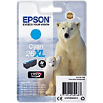 Cartucho de tinta Epson original 26xl cian c13t26324012