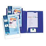 Dossier de presentación Exacompta Krea Cover A4 blanco polipropileno