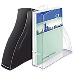Revistero CEP Isis transparente A4 1 Compartimento poliestireno 27,8 x 8,3 x 32,5 cm