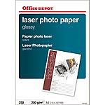 Papel fotográfico Office Depot Láser A4 brillante 200 g