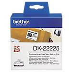 Etiqueta térmica Brother DK 22225 38 x 30.500 mm blanco