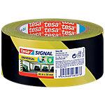 Cinta señalizadora tesapack Signal Universal 50 mm x 66 m negro, amarillo