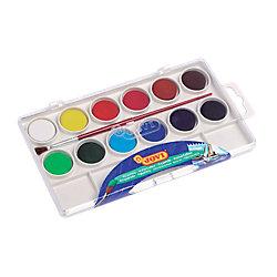 Acuarela JOVI Pastilla colores surtidos 12 unidades