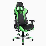 Silla gaming DXRacer OH FE00 NE Zero negro, verde