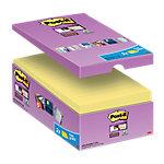 Notas adhesivas Post it 127 x 76 mm amarillo 16 unidades de 90 hojas
