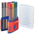 Rotulador STABILO Pen 68 ColorParade punta de fibra colores surtidos 20 unidades