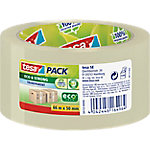 Precinto de polipropileno reciclado tesapack Eco and Strong 50 mm x 66 m transparente