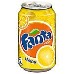 Fanta Limón lata 24 unidades de 330 ml