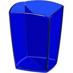 Cubilete CEP Pro Happy 530 H azul plástico 7,4 (a) x 9,5 (h) x 7,4 (p) cm