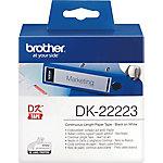 Etiqueta térmica Brother , Blanco, DK, Transferencia térmica, 50 mm x 30.48m, 1 pieza(s) DK 22223