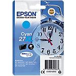 Cartucho de tinta Epson Original 27XL Cian C13T27124012