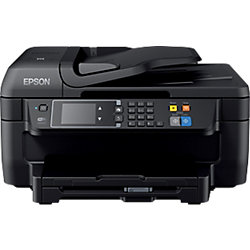 Impresora multifunción 4 en 1 Epson WorkForce WF-2760DWF color tinta a4