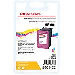 Cartucho de tinta Office Depot compatible hp 901 3 colores cc656a