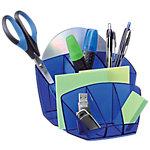 Organizador sobremesa CEP Happy 580 H azul poliestireno 15,8 x 14,3 x 9,3 cm