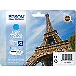 Cartucho de tinta Epson original t7022 cian c13t70224010