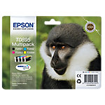 Cartucho de tinta Epson Original T0895 Negro & 3 Colores C13T08954010 4 unidades