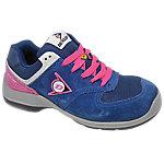 Zapatos Dunlop piel, malla talla 39 s3 azul