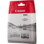 Cartucho de tinta Canon original pgi 520bk negro 2 unidades