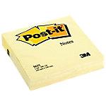 Notas adhesivas en cubo Post it 100 x 100 mm amarillo 200 hojas