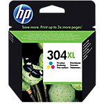 Cartucho de tinta HP original 304XL 3 colores N9K07AE