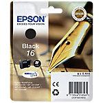 Cartucho de tinta Epson original 16 negro c13t16214010