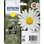 Cartucho de tinta Epson original 18 amarillo c13t18044010