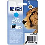 Cartucho de tinta Epson original t0712 cian c13t07124012