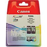 Cartucho de tinta Canon original pg 510