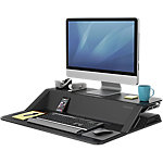 Estación de trabajo Fellowes Sit Stand Lotus negro 831,9 x 616 x 139,7 mm