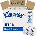 Toallita secamanos Kleenex Ultra 6777 2 capas intercalado blanco 30 unidades de 124 hojas