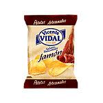 Patatas fritas Vicente Vidal Artesanales con Jamón 50 unidades