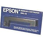 Cinta para impresora Epson original ERC 22 negro